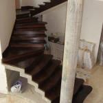 Лестница из дуба