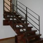 Лестница из ясеня